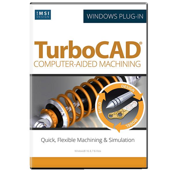 CAM Plug-in for TurboCAD Platinum 2019/2020