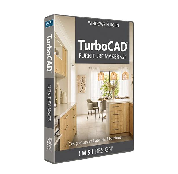 TurboCAD Furniture Maker v21