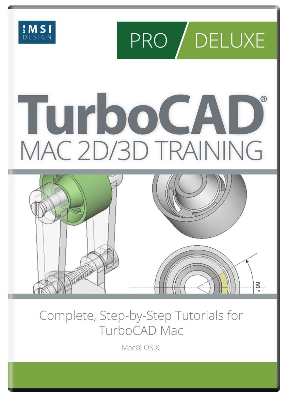 TurboCAD Mac 2D/3D Training Guides