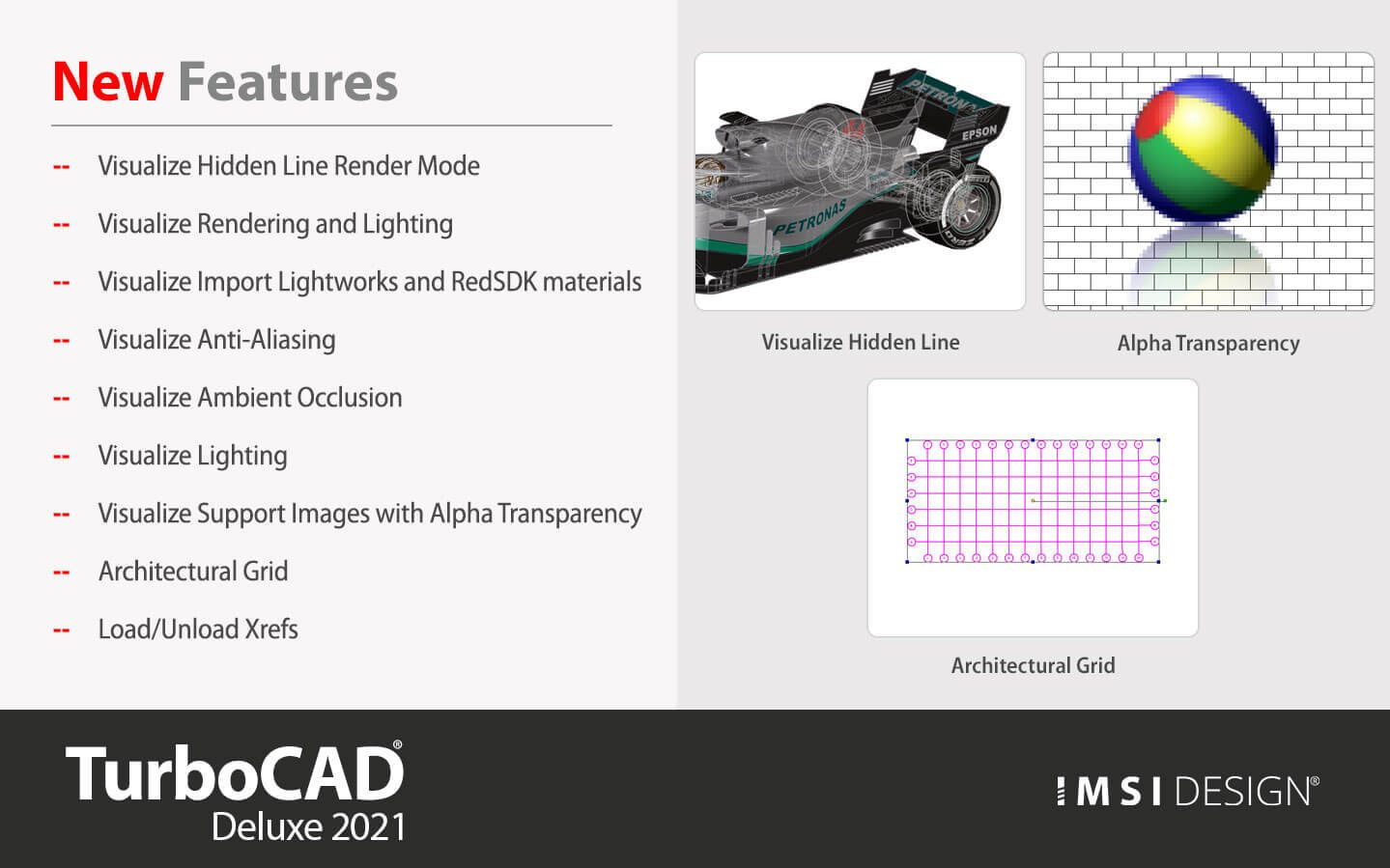 What's New in TurboCAD Deluxe
