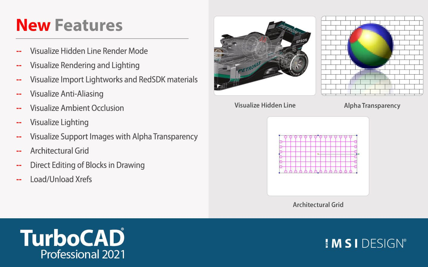 What's New in TurboCAD Pro