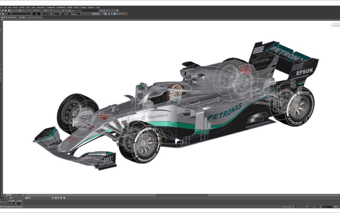 Visualize Render Mode